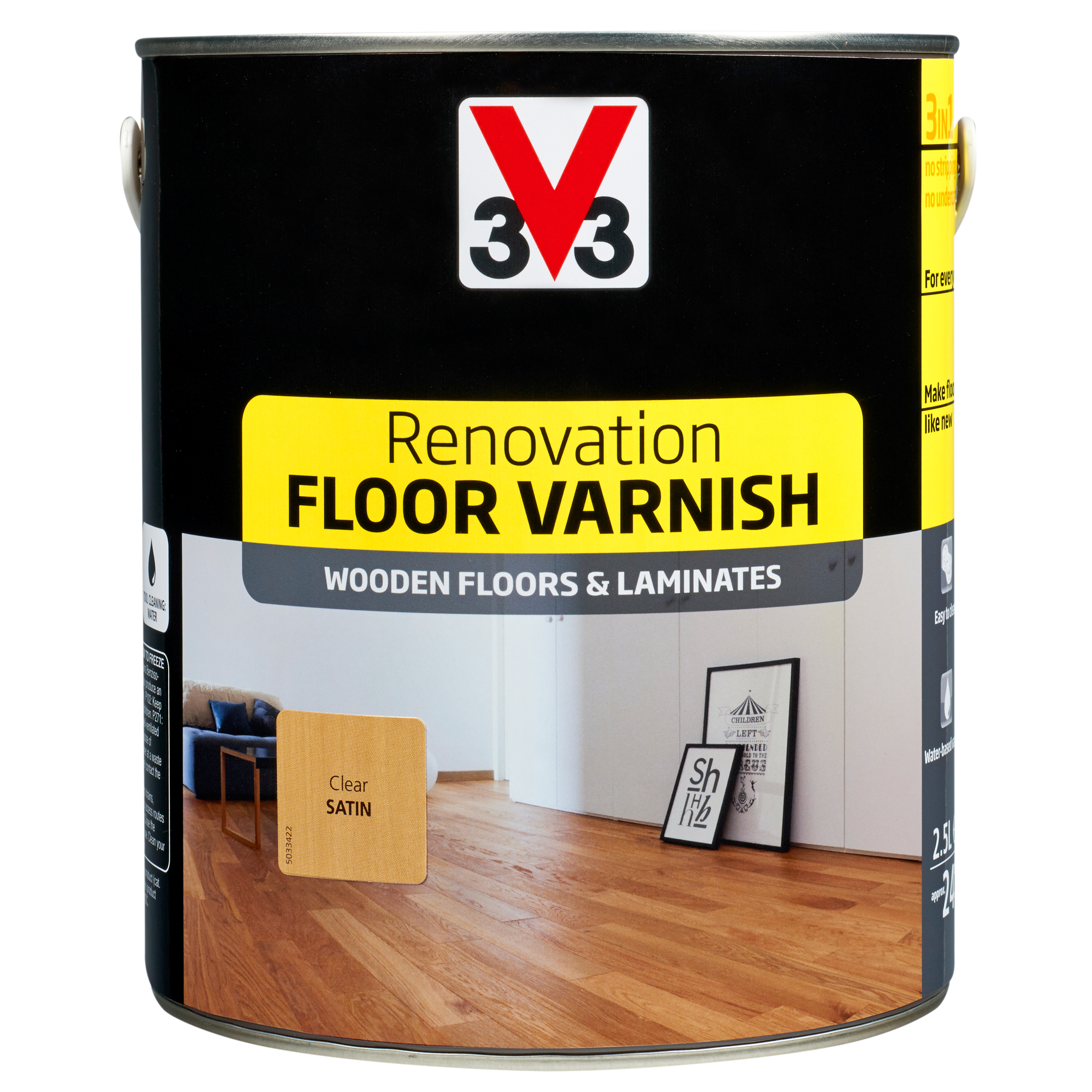 Floor Varnish V33 Renovating Painting V33 Renovating