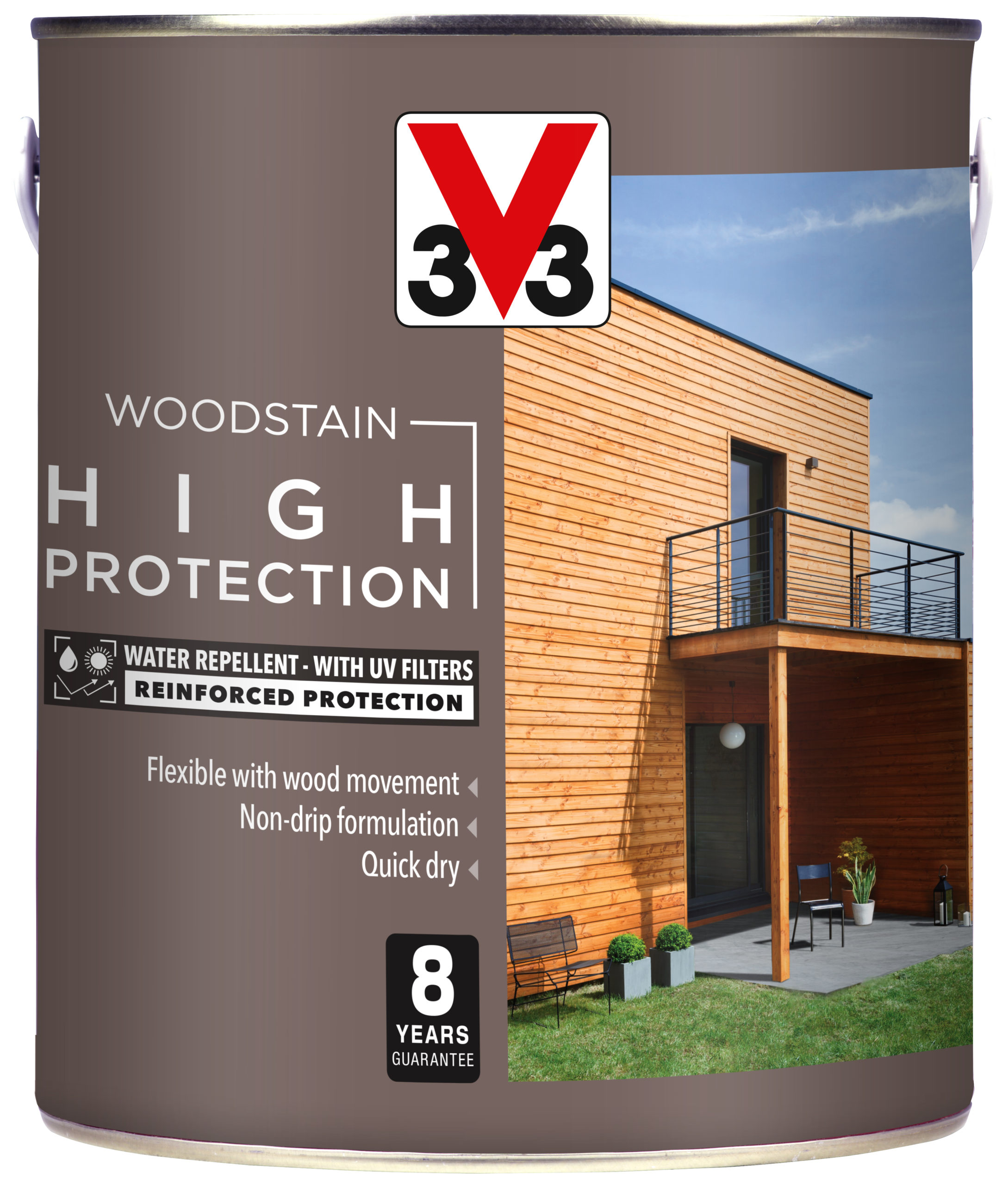 High Protection Woodstain