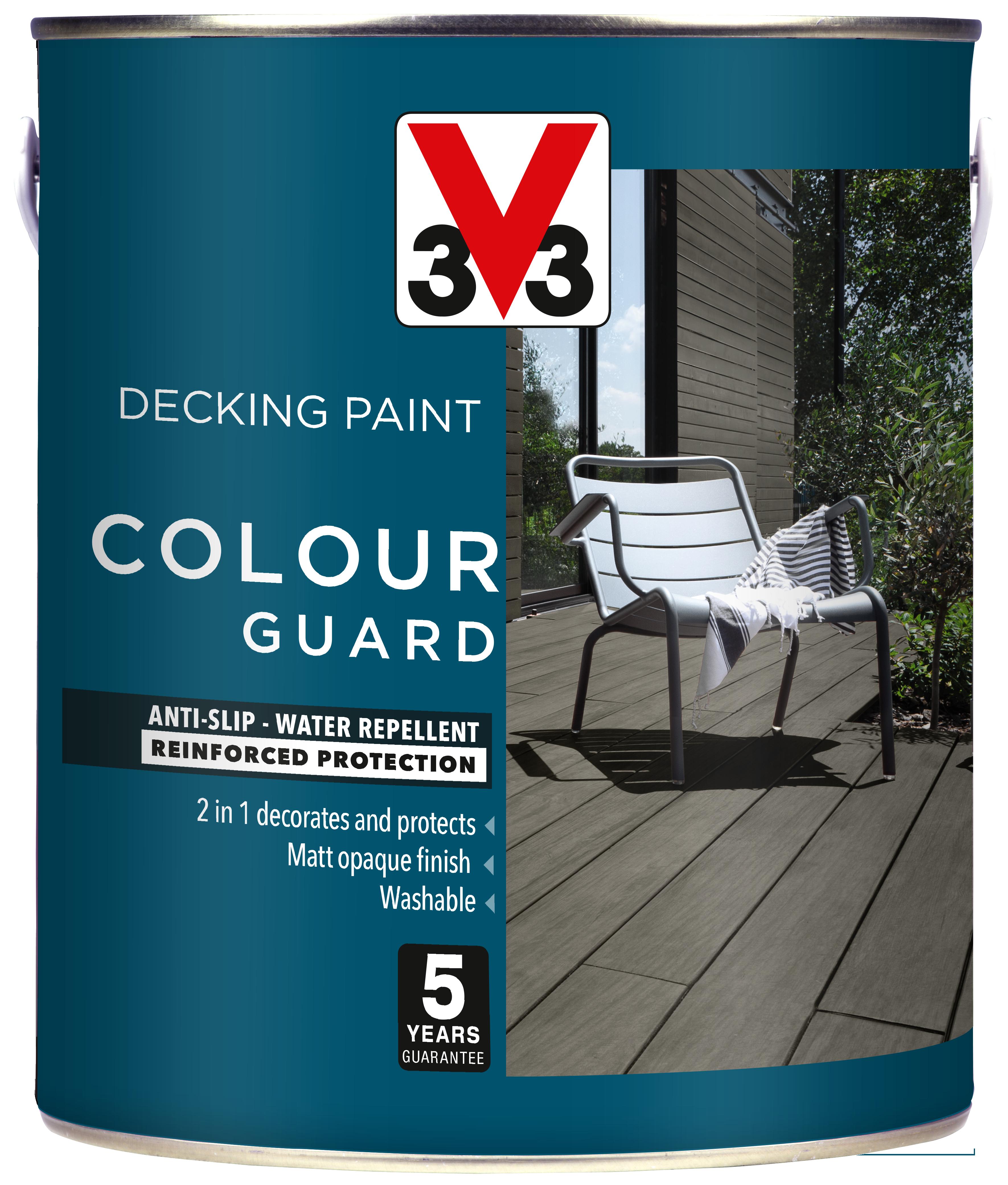 Colour Guard Decking Paint